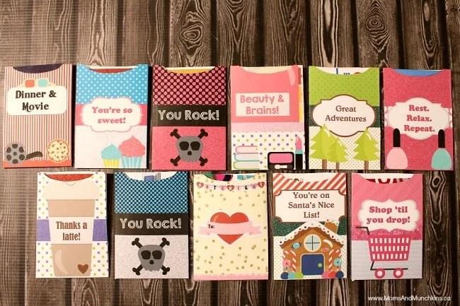 Free Printable Gift Card Holders Moms Amp Munchkins
