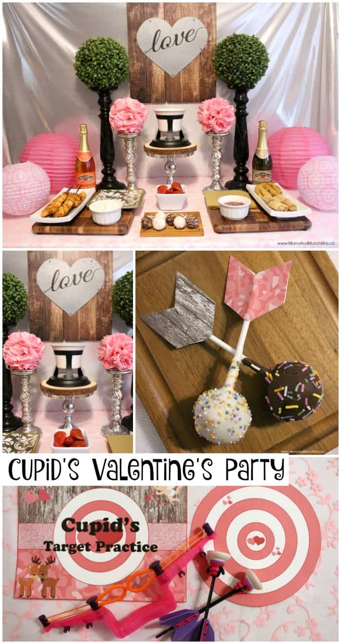 Cupids Valentines Day Party Moms Amp Munchkins