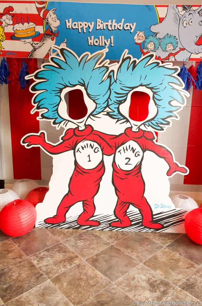 Cat In The Hat Party Ideas And Supplies Moms Munchkins
