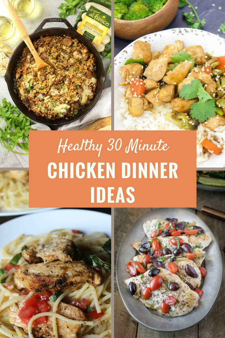 Simple and Easy Healthy Chicken Dinner Recipes in 30 ...