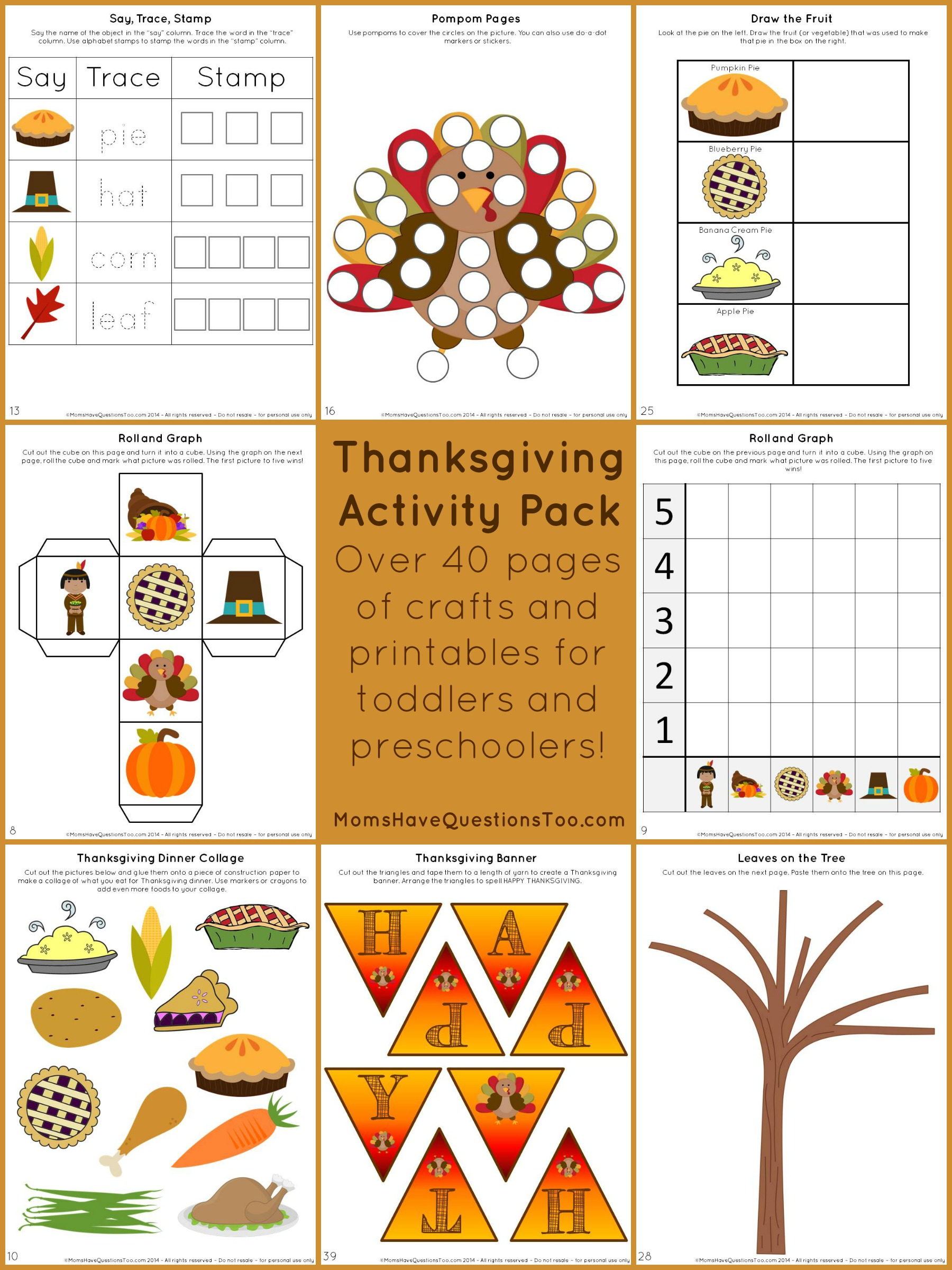 Turkey Thanksgiving Math Worksheet For Kindergarten