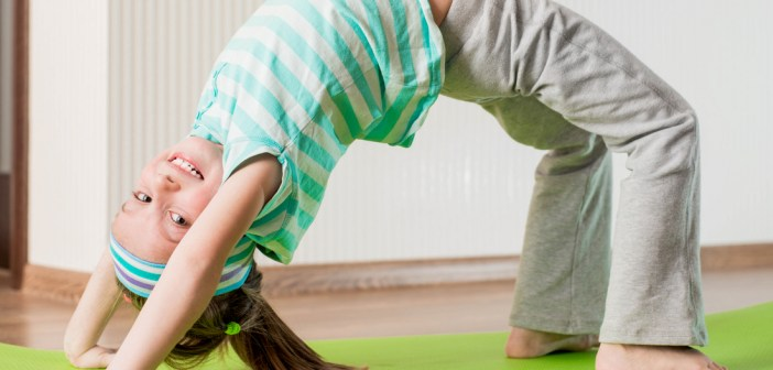 How yoga helps kids make healthier diet choices