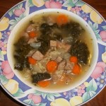 Chicken Apple Sausage, Kale and Rice Soup – OAMC, Dairy Free