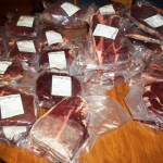 Our 1/2 Side of Beef Purchase for 2013