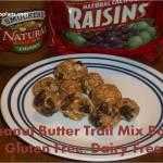 Peanut Butter Trail Mix Balls – Gluten Free, Diary Free