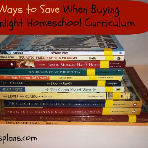 Ways to Save When Buying Sonlight Curriculum