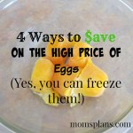 How to Save on the High Price of Eggs