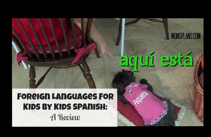 ForeignLanguagesForKids--Spanish