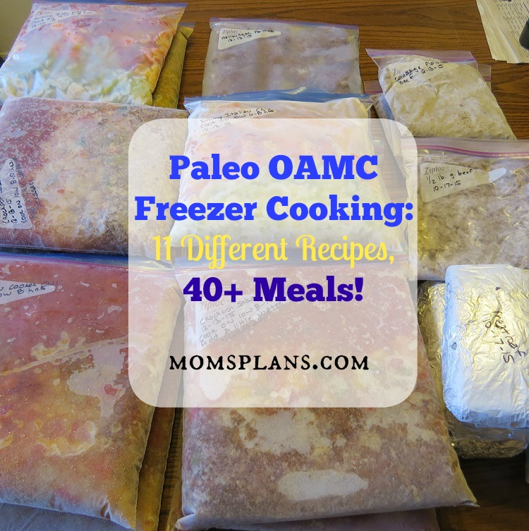 Paleo OAMC Freezer Cooking