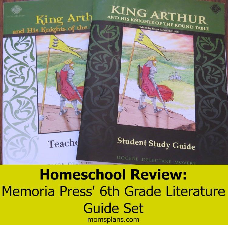 Memoria Press 6th Grade Lit Review