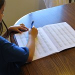 Homeschool Crew Review:  Easy Peasy Cursive