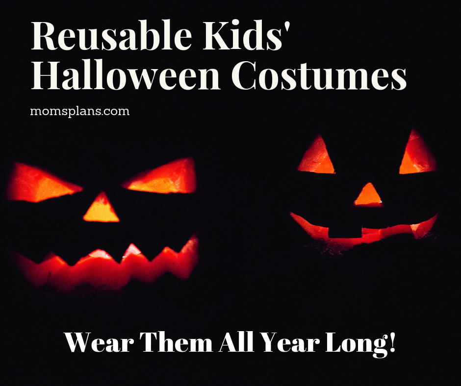 Reusable Kids' Halloween Costumes
