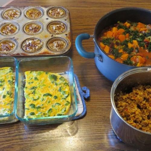 Meal Prep and Menu Plan January 19, 2020