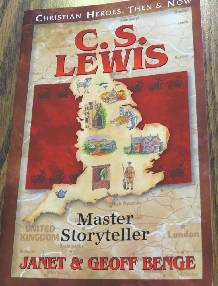 C.S. Lewis: Master Storyteller by Janet & Geoffe Benge