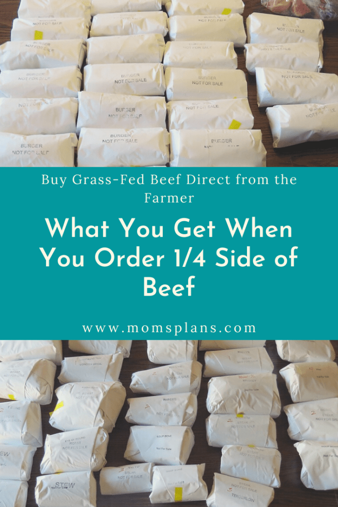What You Get When You Order 1/4 Side of Grass-Feed Beef