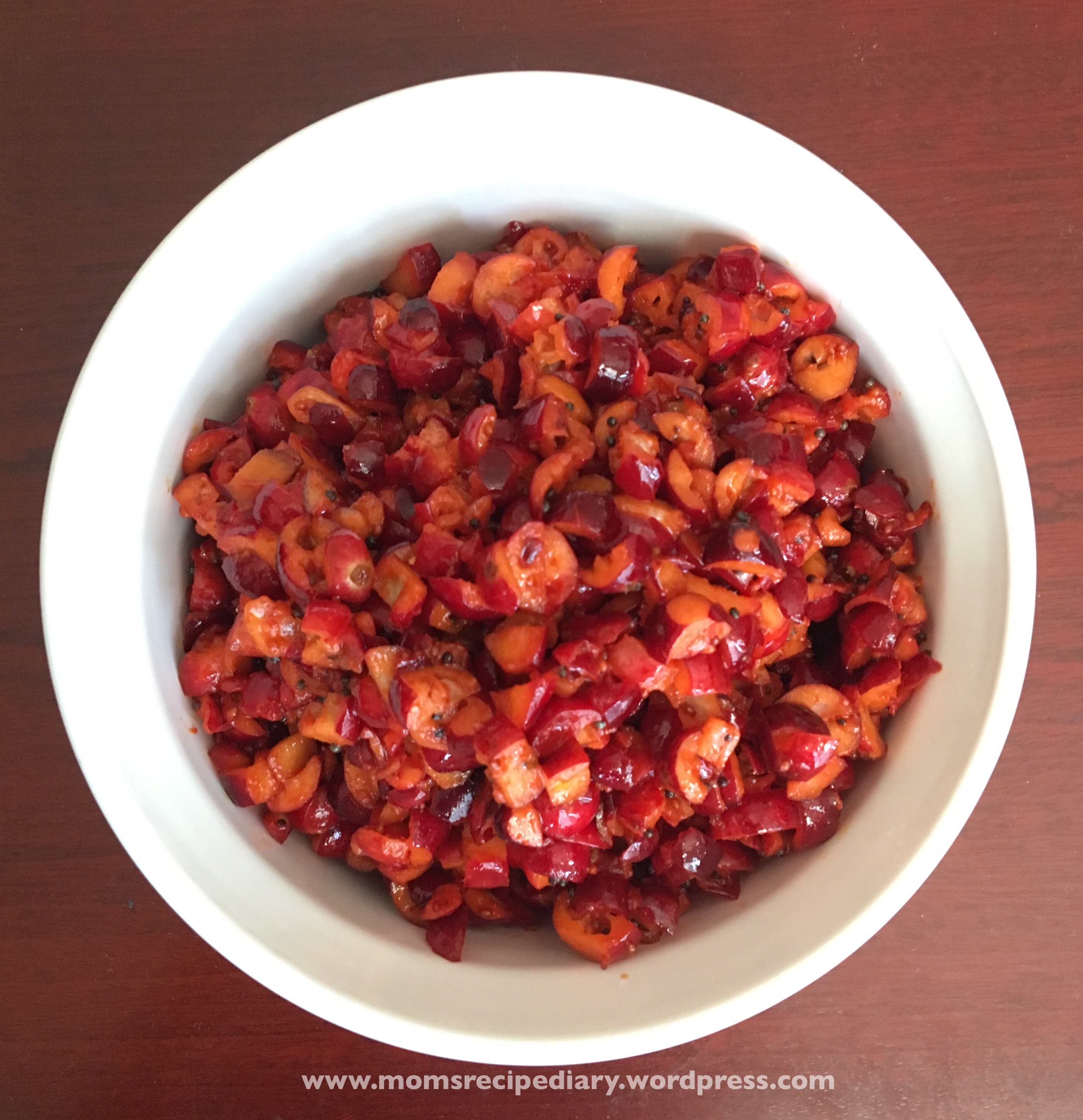 Cranberry Pickle/Cranberry Ooragaya