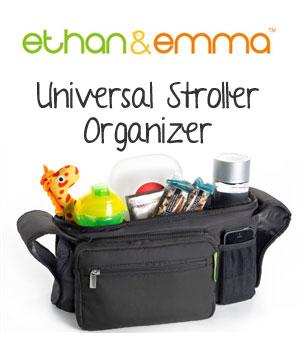 Ethan & Emma Universal Stroller Organizer Review
