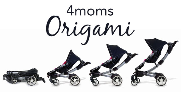 4moms Origami stroller/pushchair & bassinet in EN1 Enfield für 300 ... | 307x600