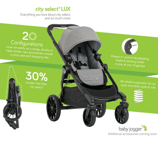 Baby Jogger City Select Lux 2017 Stroller All You Need To Know