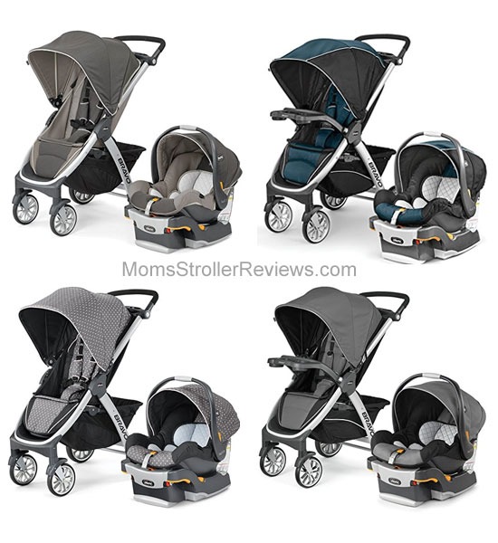 This Stroller Is Available In Four Color Combinations And Comes With A Matching Car Seat