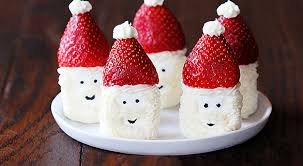 Marshmallow Strawberry Santa