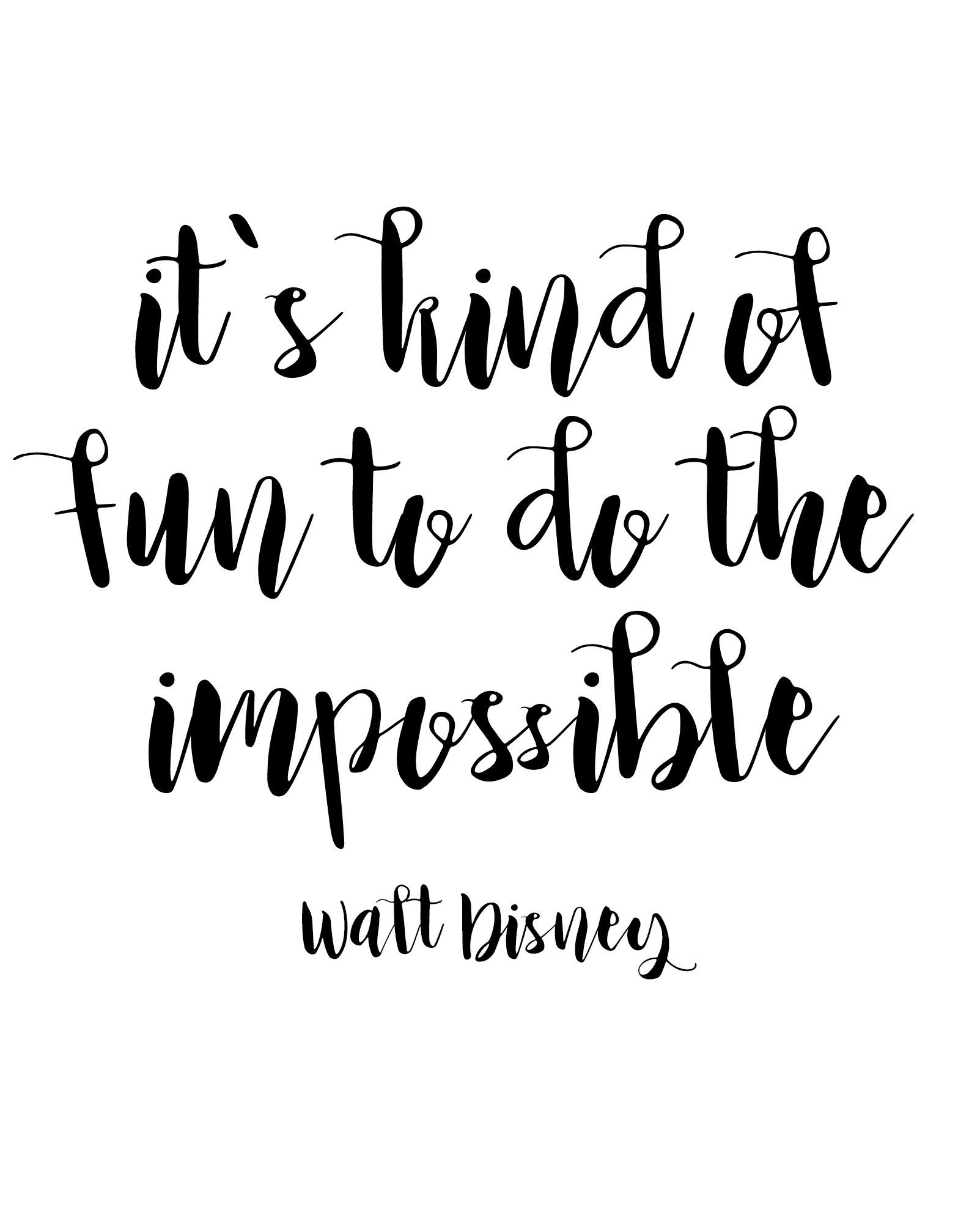 Free Printable Walt Disney Quotes