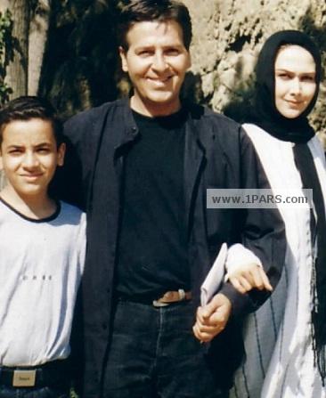 ابولفضل پور عرب و همسرش آناهیتا نعمتی