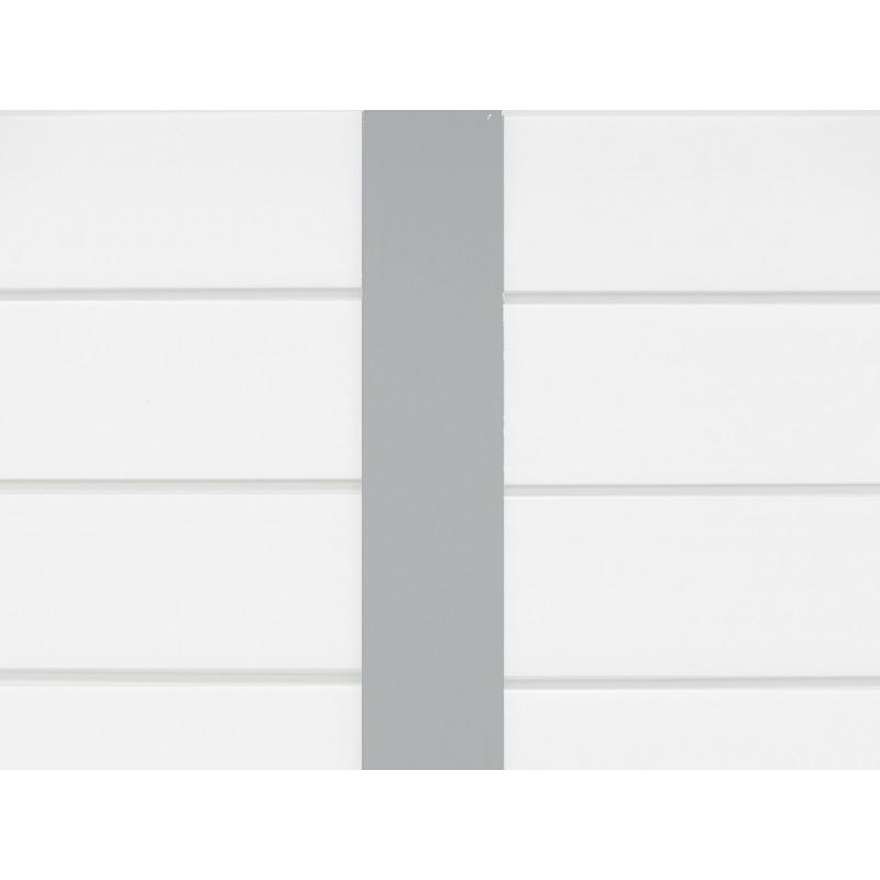 Abri De Jardin En PVC 49m DECO Blanc Et Gris Vert Grosfillex