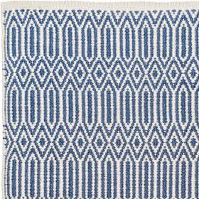 tapis alegre pet recycle bleu ecru