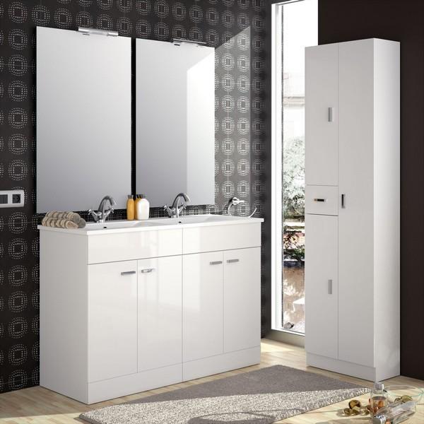 meuble de salle de bain salgar serie motril 120 cm