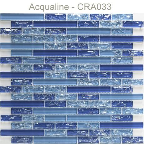 Mosaique Verre Craquelee Plaque 298x305 Acqualine Carrelage Mosaique Verre Pierre Metal Acqualine Galets Mosaique Verre Pierre Metal