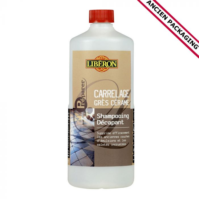 shampoing decapant carrelages gres 1l