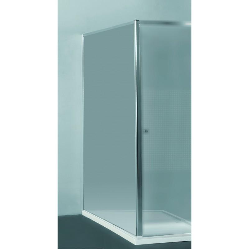 paroi fixe 78 80 x 190 cm transparente priva allibert