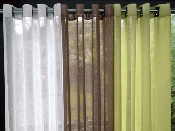 decouvrez les divers types de rideaux