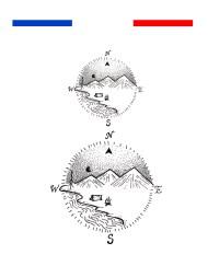 Tatouage Montagne géométrique temporaire