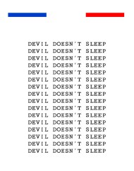 Tatouage Phrase Nuque Diable