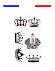 Tatouage Roi et Reine Couronne Temporaire