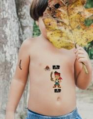 Tatouage temporaire pirates pour enfants