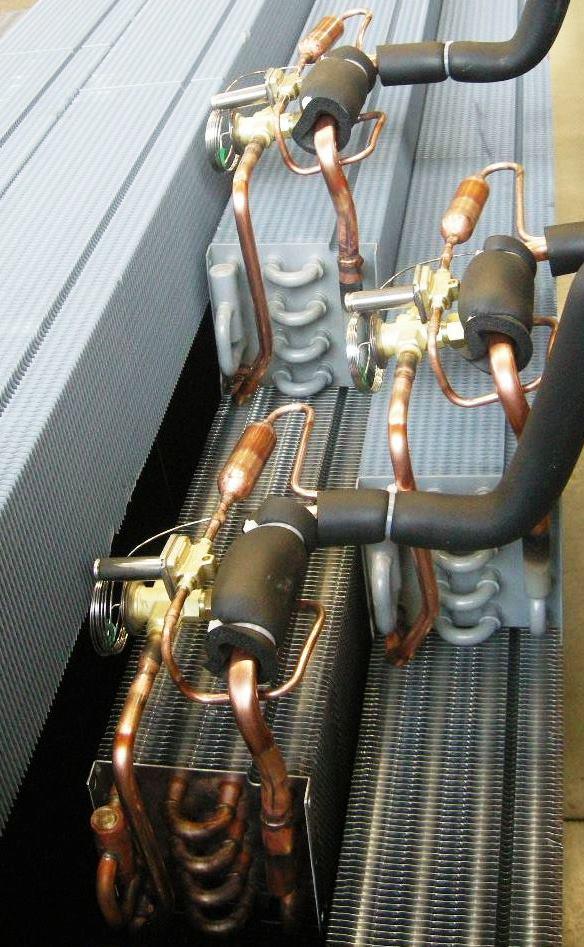 Circuito per vetrine refrigerate