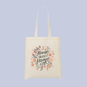 tote bag sweet home