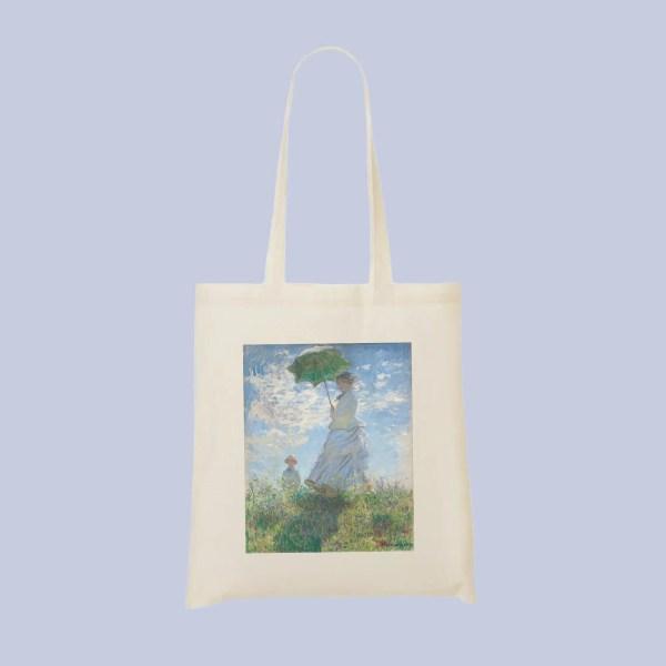 tote bag femme a lombrelle2 - Mon-Tote-Bag.fr
