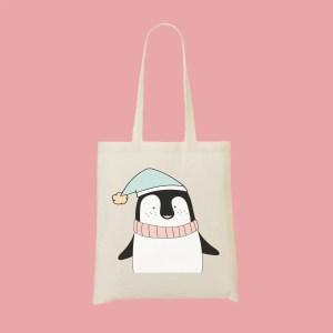 tote bag pingouin - Mon-Tote-Bag.fr