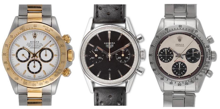 Monaco Legends watch auction items - Jan 2019