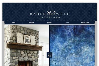 Mona Lisa Framing Partner: Karen B. Wolf Interiors
