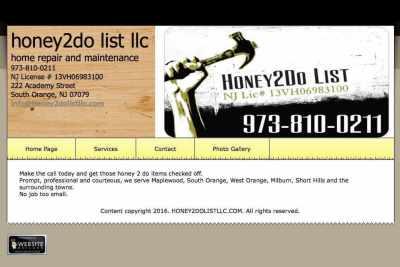 Mona Lisa Framing Partner: Honey2Do List