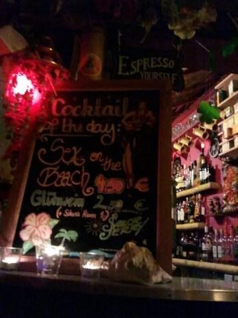 Cocktail du jour au Tiki's