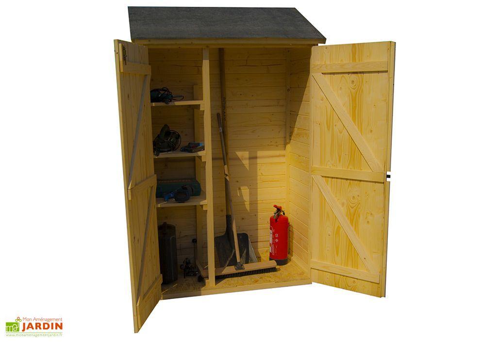 armoire de rangement bois 16mm 125 x 65 x 206 cm