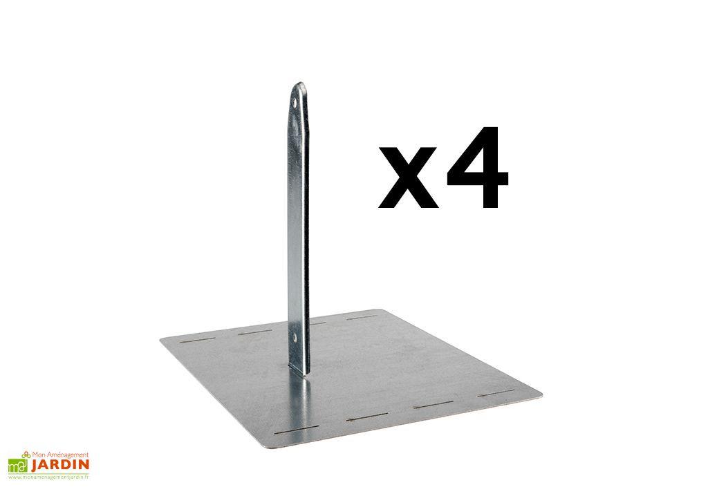 kit de fixation sans beton pour portique universel secur in