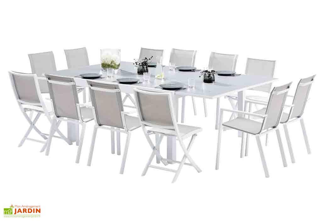 salon de jardin carre whitestar 1 table extensible 8 fts 4 chs