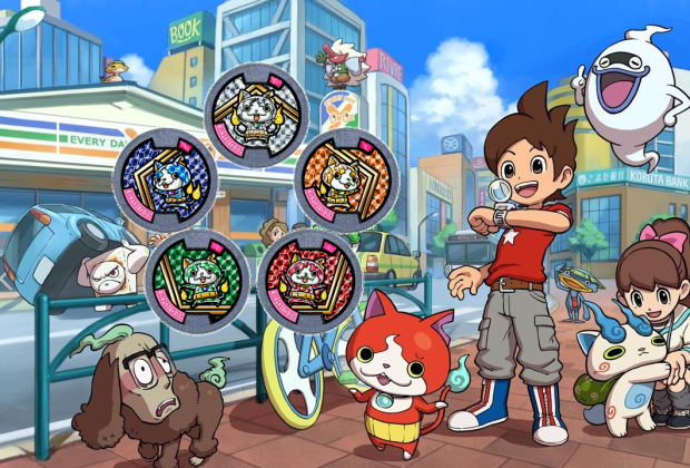 Yo-kai Watch Jewelnyan Medals